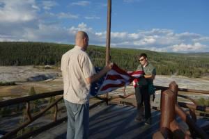 folding flag