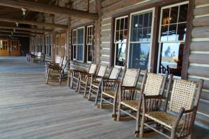 Lake Lodge Porch