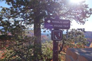 Najavo Loop Trailhead
